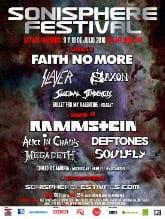 Cartel del Sonisphere 2010