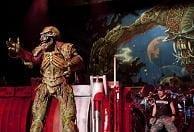 Iron Maiden durante su concierto en Valencia