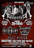 Aggression, cartel de su concierto 5º Aniversario