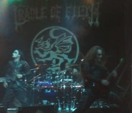 Cradle Of Filth Madrid 2012