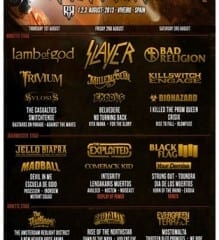 Resurrection Fest 2013 Cartel Final