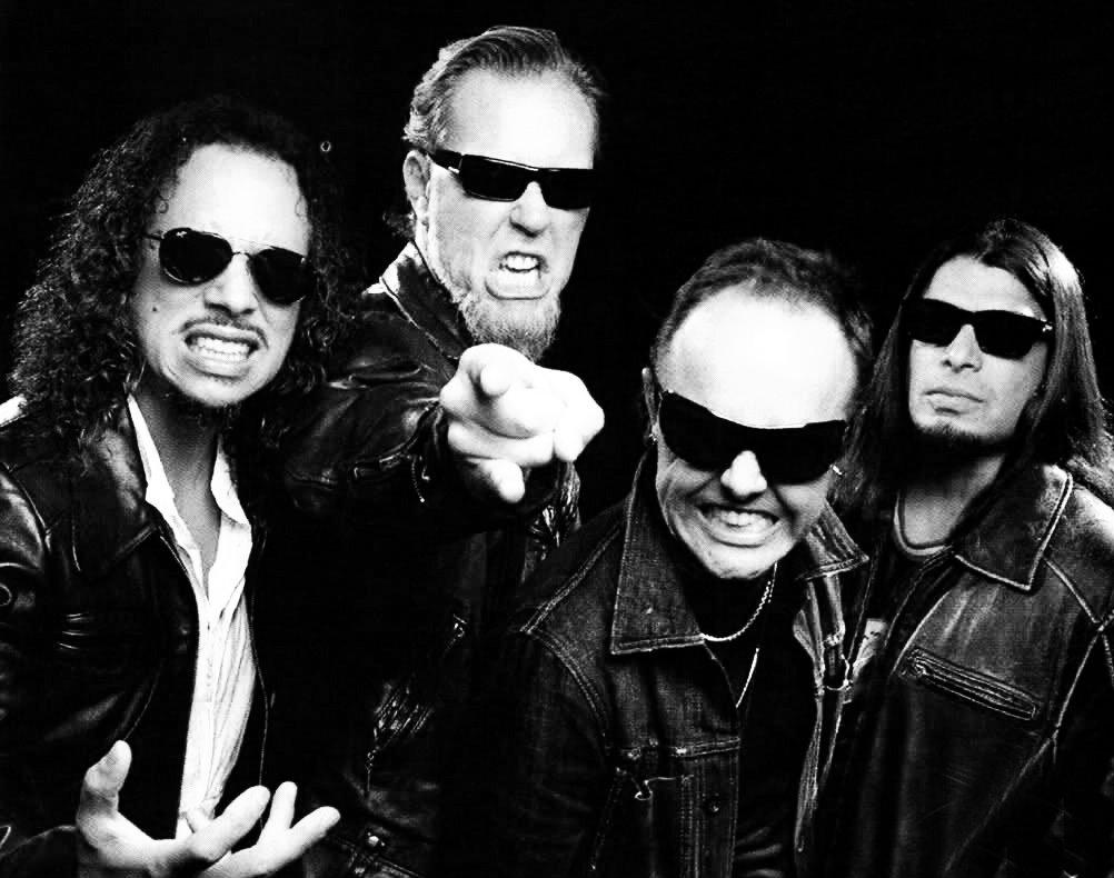 """Metallica, tema en directo en la sala """"Le Bataclan"""" de París"""