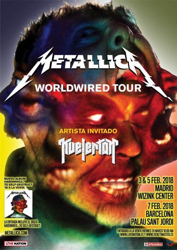 Metallica, arranca su gira europea y recordamos sus fechas en España