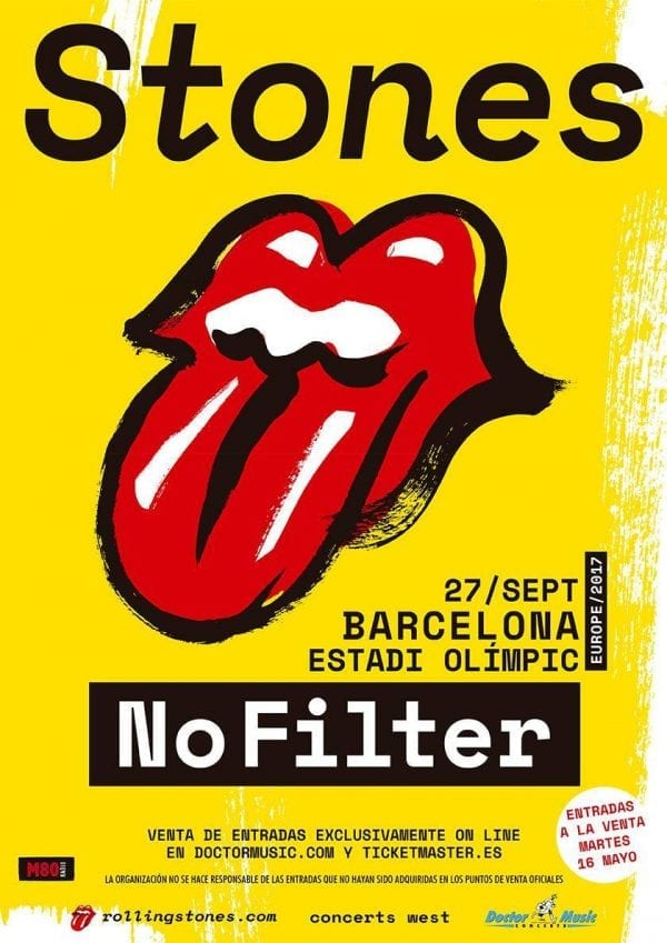 The Rolling Stones, Los Zigarros serán sus teloneros en Barcelona
