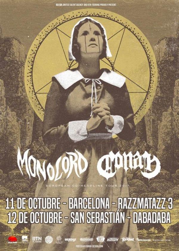 Monolord, de gira por Barcelona y San Sebastián junto a Conan