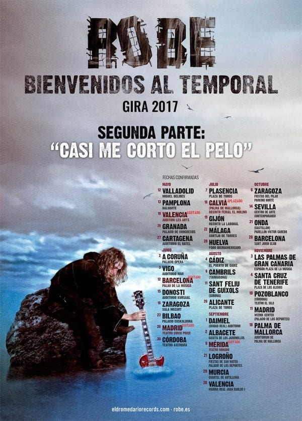 Robe, suma mas fechas a su gira incluyendo Barcelona y Madrid